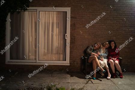 Billie Piper as Nicola, Sally Hawkins as Jane and Alice Lowe as Alice