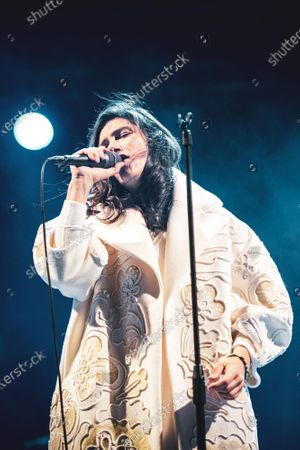 The Italian pop/rock singer Elisa (real name Elisa Toffoli) performing live for the closing concert at the Anima Festival 2020.