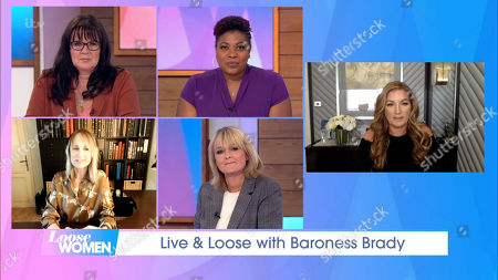 Editorial picture of 'Loose Women' TV Show, London, UK - 28 Sep 2020