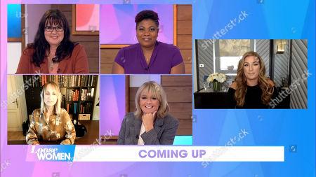 Stock Photo of Coleen Nolan, Brenda Edwards, Carol McGiffin, Jane Moore, Karren Brady
