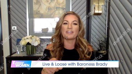 Editorial image of 'Loose Women' TV Show, London, UK - 28 Sep 2020