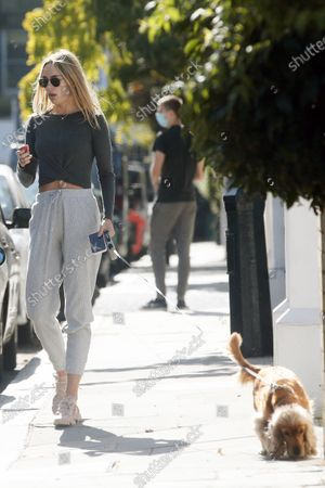 Editorial picture of Exclusive - Kimberley Garner out and about, Chelsea, London, UK - 28 Sep 2020
