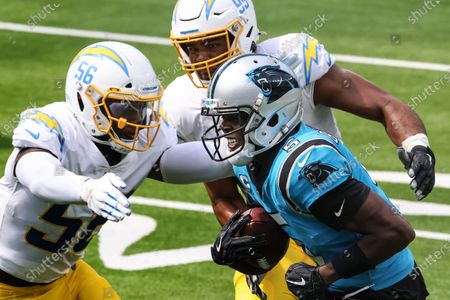 Editorial photo of Chargers Panthers NFL game, Sofi Stadium, Inglewood, California, United States - 27 Sep 2020
