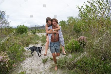 Stock Photo of Kelly Macdonald as Georgie and Garrett Hedlund as Lu Fox