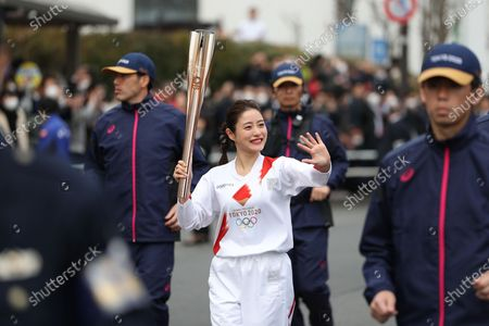 Editorial picture of Japan Tokyo Olympic Torch Relay File - 15 Feb 2020