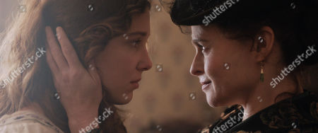 Millie Bobby Brown as Enola Holmes and Helena Bonham Carter as Eudoria Holmes