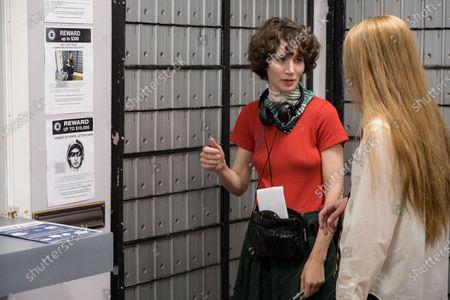 Miranda July Director and Evan Rachel Wood as Old Dolio Dyne