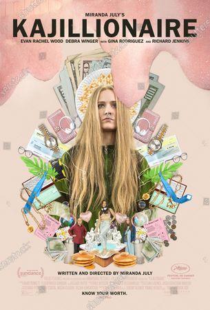 Kajillionaire (2020) Poster Art. Evan Rachel Wood as Old Dolio Dyne