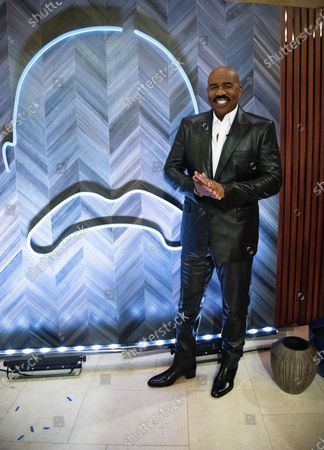 "Stock Image of Steve Harvey poses for a portrait on in Atlanta. Harvey says his daytime talk show being canceled by NBC opened up new doors with Facebook Watch. The comedian launched ""Steve on Watch"" on the streaming platform"