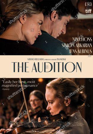 The Audition (2019) Poster Art. Nina Hoss as Anna Bronsky and Simon Abkarian as Philippe