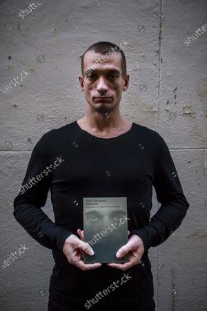 Editorial image of Piotr Pavlenski promotes his book in Paris, France - 28 Sep 2020