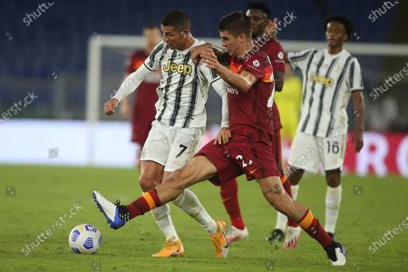 Editorial picture of Roma v Fc Juventus, Italian Serie League A, Rome, Italy - 27 Sep 2020