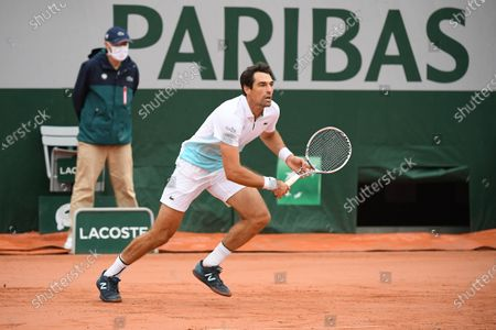 Editorial image of French Open Tennis, Day One, Roland Garros, Paris, France - 27 Sep 2020