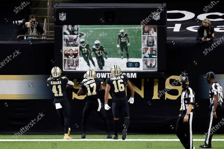 Editorial photo of Packers Saints Football, New Orleans, United States - 27 Sep 2020