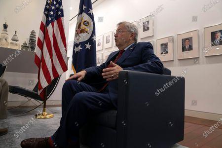 Editorial image of US Ambassador Interview, Beijing, China - 29 Sep 2020