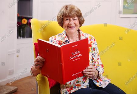 Stock Photo of Poet Pam Ayres turns financial crimes into rhymes to create 'Scam Sonnets', partnering with Santander to raise awareness of investment fraud ahead of National Poetry Day, 1st October