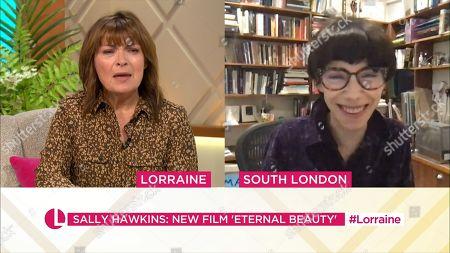 Lorraine Kelly, Sally Hawkins