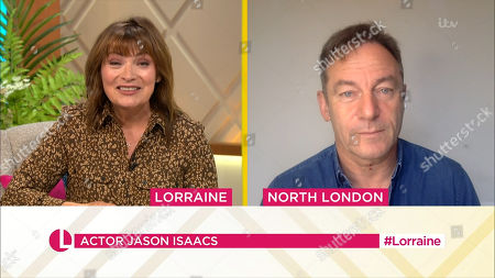 Stock Picture of Lorraine Kelly, Jason Isaacs