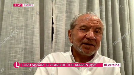 Stock Picture of Lord Alan Sugar
