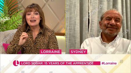 Lorraine Kelly, Lord Alan Sugar