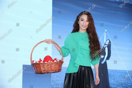 Hebe Tien during her 'One World Tour Concert'