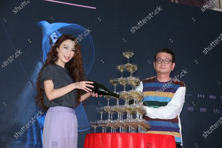 Stock Image of Hebe Tien during her 'One World Tour Concert'