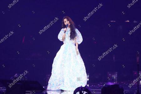 Editorial image of Hebe Tien 'One World Tour Concert', Taipei Arena, Taipei, Taiwan, China - 28 Sep 2020
