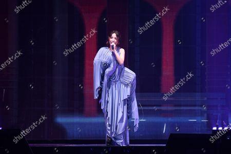 Hebe Tien performs during her concert