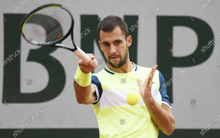 Editorial picture of French Open tennis tournament at Roland Garros, Paris, France - 29 Sep 2020