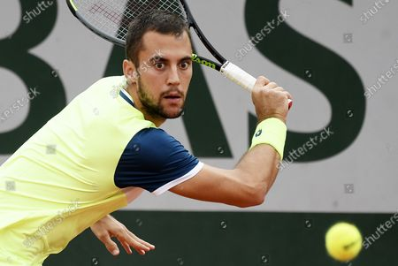 Editorial image of French Open tennis tournament at Roland Garros, Paris, France - 29 Sep 2020