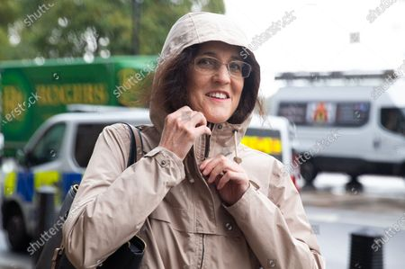 Stock Photo of Theresa Villiers, MP for Chipping Barnet, in Westminster.