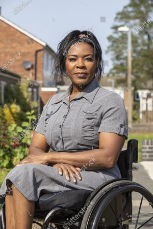 Stock Image of Anne Wafula Strike - former Paralympian, now on board of UK Athletics, disabled people are being left behind in reopening of sports facilities and getting active.