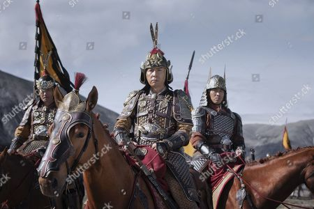 Stock Photo of Ron Yuan as Sergeant Qiang and Donnie Yen as Commander Tung