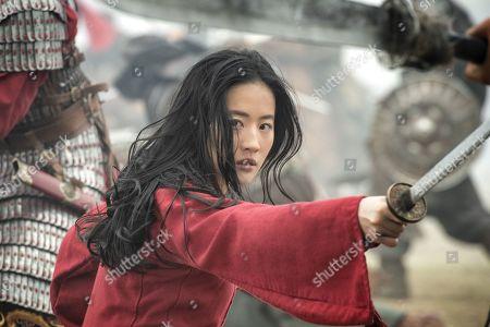 Stock Image of Yifei Liu as Mulan