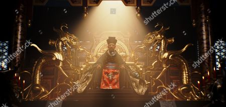 Stock Photo of Jet Li as Emperor