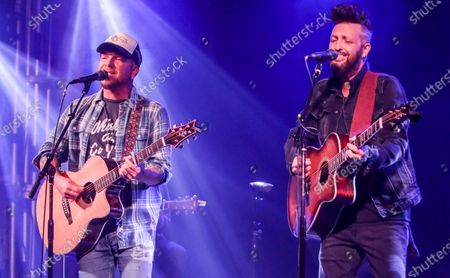 Editorial picture of Dustin Lynch with Jimmie Allen and LOCASH Live Stream Concert, 3rd & Lindsley, Nashville, Tennessee, USA - 28 Sep 2020
