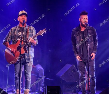 Chris Lucas and Preston Brust of LOCASH perform