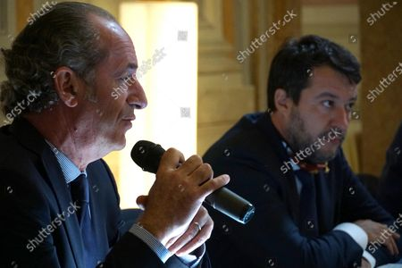 Editorial image of League party leader Matteo Salvini visit to Venice, Italy - 29 Sep 2020
