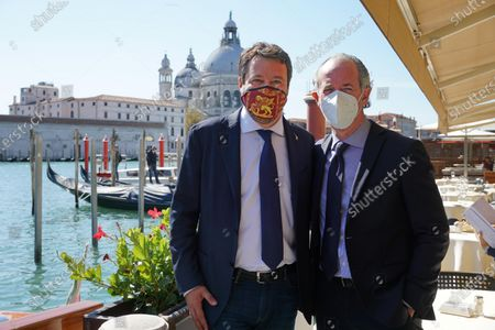 Editorial picture of League party leader Matteo Salvini visit to Venice, Italy - 29 Sep 2020