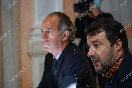Editorial photo of League party leader Matteo Salvini visit to Venice, Italy - 29 Sep 2020