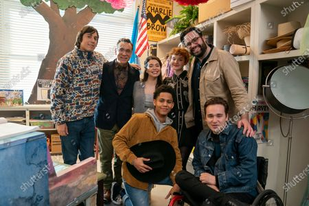 Anthony Jacques as Ricky, Fred Armisen as Mr. Franks, Auli'i Cravalho as Amber Appleton, Rhenzy Feliz as Ty, Taylor Richardson as Jordan, Brett Haley Director and Gerald Isaac Waters as Chad