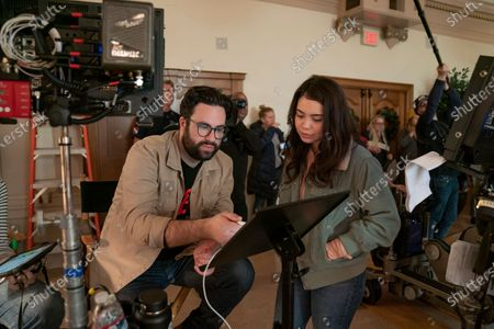 Stock Picture of Brett Haley Director and Auli'i Cravalho as Amber Appleton