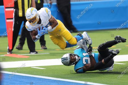 Editorial photo of Panthers Chargers Football, Inglewood, United States - 27 Sep 2020