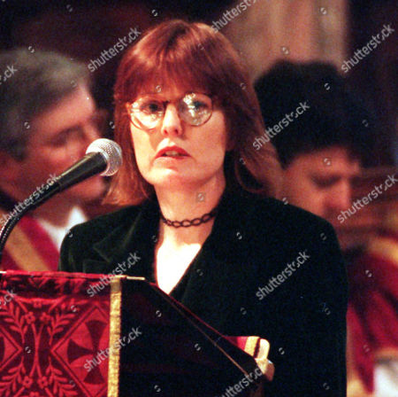 Frances Lawrence Widow Of Murdered Headmaster Philip Lawrence January 1996 1996 Picture