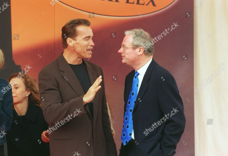 Arnold Schwarzenegger Actor With Chris Smith (now Baron Smith Of Finsbury) Minister Of State For Heritage. Lord Smith