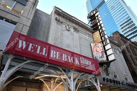 Editorial image of Coronavirus theater closings, New York, USA - 28 Sep 2020