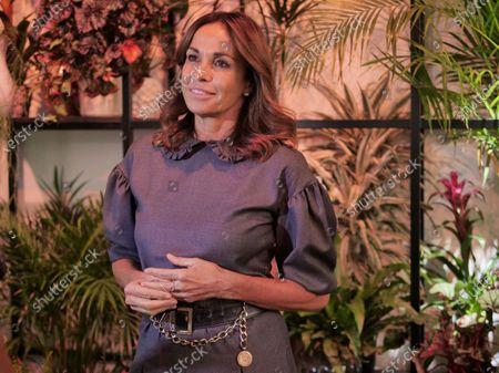 Italian journalist Cristina Parodi, TV presenter and writer