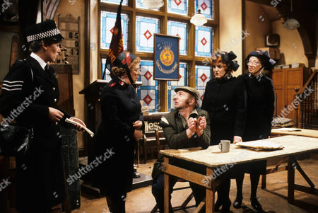 Elizabeth Lynn as WPC, Thora Hird as Captain Emily Ridley, Ray Dunbobbin as Hamish, Patsy Rowlands as Sister Alice Meredith and Rosamund Greenwood as Sister Dorothy Smith.