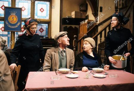 Thora Hird as Captain Emily Ridley, Geoffrey Bayldon as Nigel, Carmel McSharry as Dolores Rosamund Greenwood as Sister Dorothy Smith.