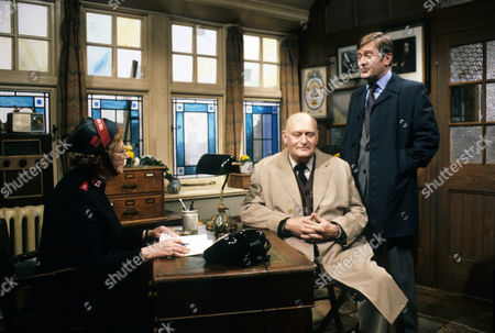Thora Hird as Captain Emily Ridley, Peter Schofield as Joseph Bostock, and Peter Childs as Harold Morley.